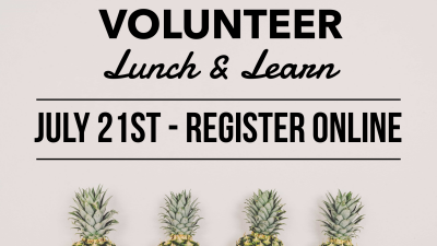 Volunteer Lunch and Learn