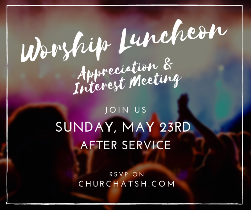 Worship Ministry Luncheon