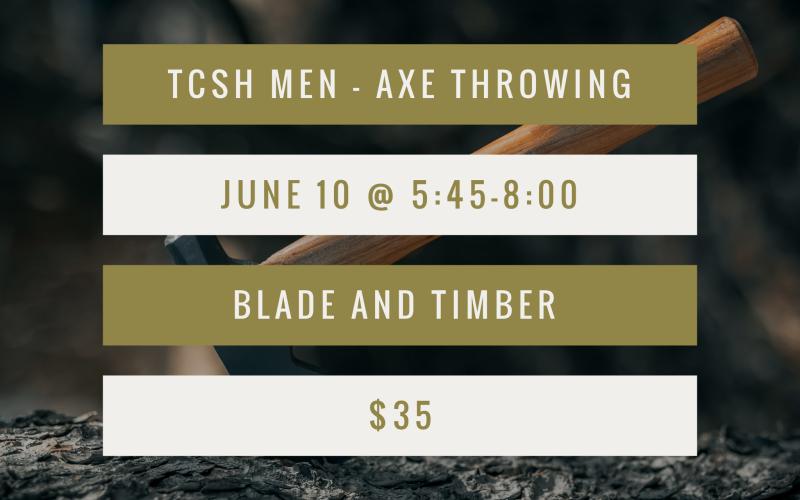 Men's Axe Throwing