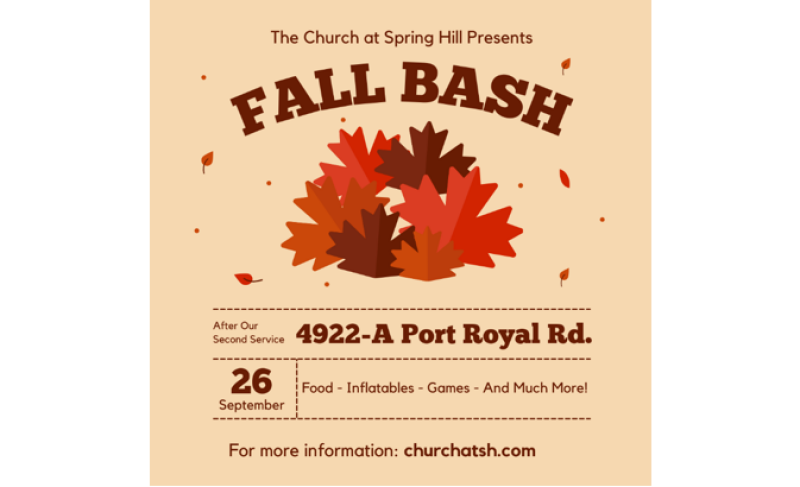 Fall Bash 2021